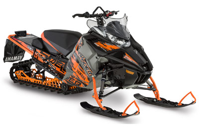 Yamaha Cross-over Snowmobile
