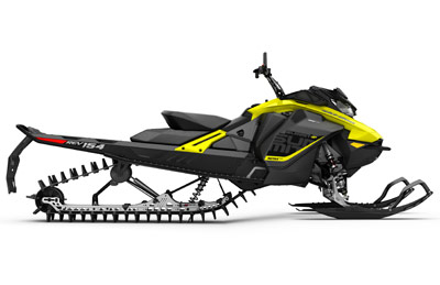 BRP Mountain Snowmobile