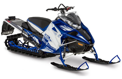 Yamaha Mountain Snowmobile