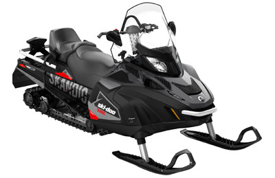 BRP Utility Snowmobile